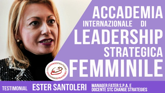 leadership femminile Ester Santoleri Intervista