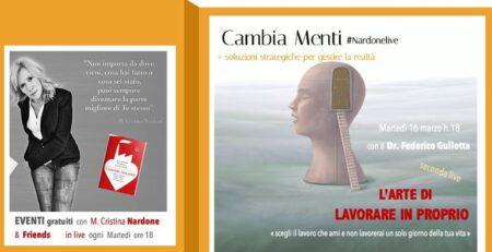 CambiaMenti con Federico Gullotta: l'arte di lavorare in proprio