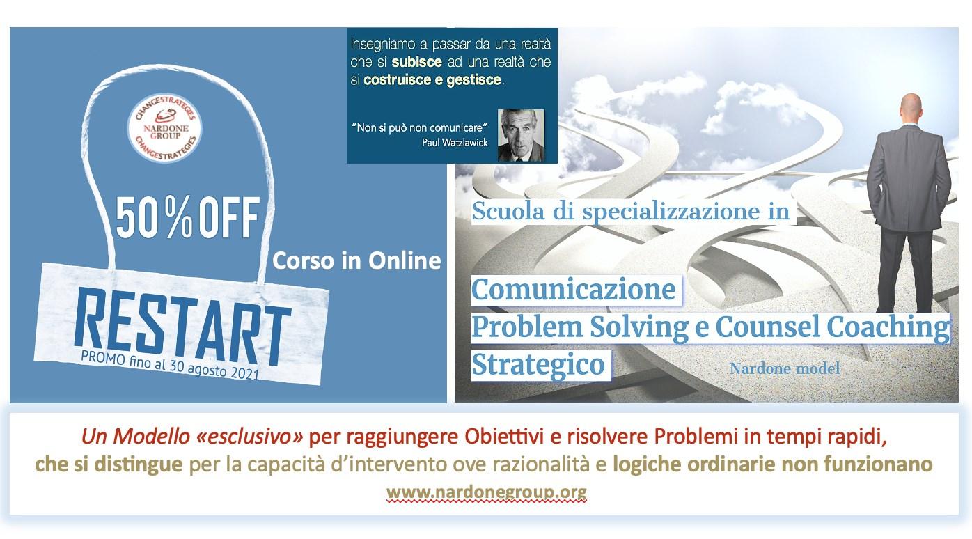 Scuola Manageriale online. Offerta -50%